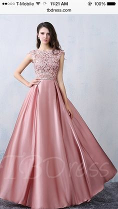 Beautiful Party Dresses 2016 Square Neckline Applique Lace Pink Satin Formal Dress With Bow-knot Prom Dresses 2016, Pink Prom Dresses, Modest Dresses, Evening Dresses, Bridesmaid Dresses, Formal Dresses, Dress Prom, Long Dresses, Beautiful Party Dresses