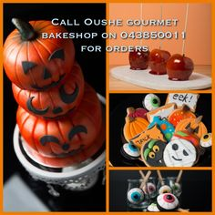 #decorated #halloween #cute #cookies #pumpkins #mummies #monsters and much more from #oushe #gourmet #bakeshop #dubai #uae www.oushe.com 043850011