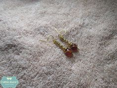 Simple Jeweler Copper, Indian, Jewels, Jewellery, Beads, Simple, Earrings, Design, Beading