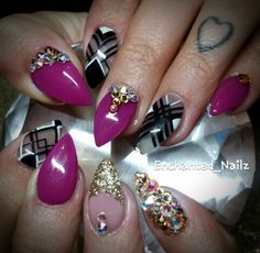 #gelnails #nails #aztecnails #prettynails #nailart #nailideas