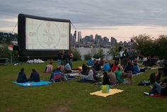 A Beer (or Two) and a Movie in Gas Works Park | Seattle Met
