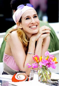 """""""I loved it…Except for one huge problem. You have your leading lady running all over town wearing a scrunchie. A scrunchie!"""" – Carrie Bradshaw #WWWQuotesToLiveBy"""