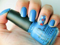 Hanging in the Balance - China Glaze + Película China Glaze Nail Polish, Make Up, Nails, Pictures, Nail Polishes, Finger Nails, Ongles, Makeup, Beauty Makeup