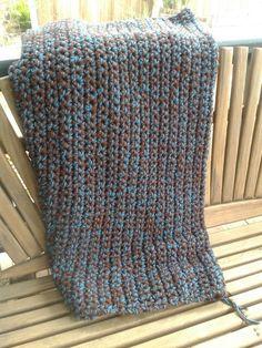 Jessie's crocheted blanket.