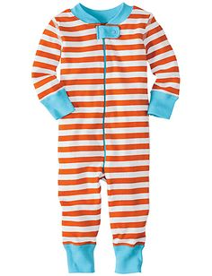 I actually dont own any zip up sleepers. I love sleepers. I don't think kids need too much to wear but sleepers before the age of two, but I intensely prefer snap up sleepers. You don't have to completely unzip them to maneuver their leg out of the unzipped leghole ten times a day. And if anyone was going to pinch their baby in a zipper, it would be me.