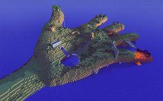 minecraft-hand-island
