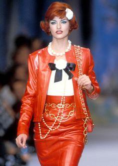 Linda Evangelista, Chanel Spring 1992