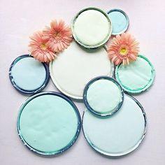 """b7ee2e217948d4 PPG Paints on Instagram  """"Minty blue color inspiration!  SpringhasSrung   paint  voiceofcolor  paintinspiration  mint  minty  blue 📷   vfynes"""""""