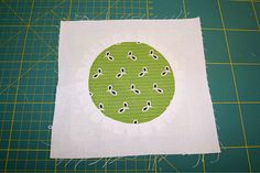 machenundtun ~ tutorial on how to sew a perfect circle