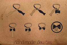 Как сшить галстук - бабочку (DIY+выкройка) / Галстуки - бабочка / ВТОРАЯ УЛИЦА