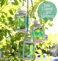 Stained-glass-lanterns-Crafts-Unleashed