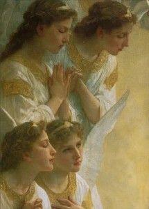 """Angels have no philosophy but Love."" ~ Terri Guillemets  www.mynzah.com"