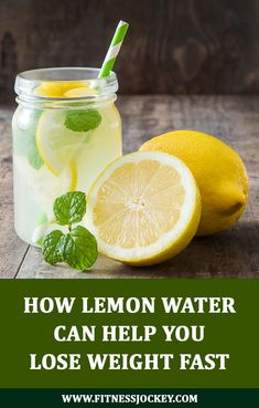 How Lemon Water Can Help You Lose Weight Fast