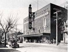 Byrd Theatre - 2908 W. Cary St., opened in 1928. Later Eddie Weaver performed on the mighty Byrd Wurlitzer organ for the pleasure of his Richmond audience. RICHMOND, VIRGINIA