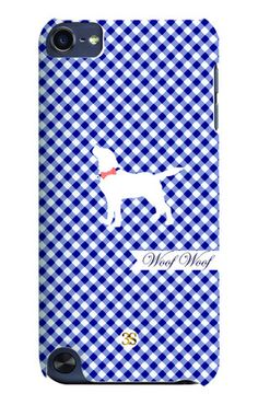 The Brody Woof iphone case...super cute in gingham...