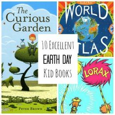 April 22 is Earth Day. Looking for a fun way to celebrate earth day? These 10 beautiful books are a fantastic way to show our kids how to give thanks for our lovely planet! Earth Day Activities, Spring Activities, Craft Activities, Language Activities, Earth Day Crafts, Teaching Science, Science Books, Childrens Books, Kid Books