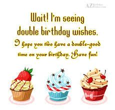 7 best birthday wishes images images on pinterest twin birthday happy birthday wishes images with quotes and text messages for twins boys and girl m4hsunfo