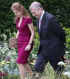 Prince Andrew, Duke Of York and his daughter Princess Beatrice