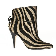 Beyond Skin zebra-print ankle boots