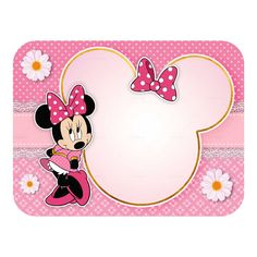 Minnie Mouse Drawing, Mickey E Minnie Mouse, Theme Mickey, Mickey Mouse Images, Minnie Mouse Pictures, Minnie Mouse Birthday Invitations, Minnie Mouse First Birthday, 1st Birthday Party For Girls, Girl Birthday Decorations