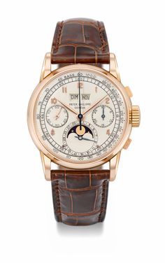 First series Patek Philippe 2499 Perpetual Calendar Chronograph in pink gold