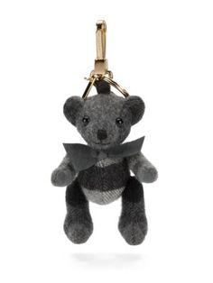 dae633a25138 BURBERRY Thomas House Check Cashmere Bear Keychain.  burberry  keychain