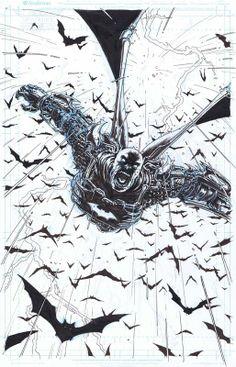 Batman Incorporated #10, Page 20 by Chris Burnham.