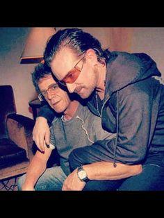 Bono & an old friend
