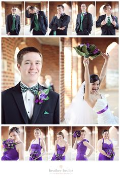 Shot of each person in the bridal party
