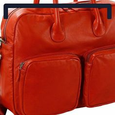 Naoto Fukasawa, Silky Touch, Natural Colors, Briefcase, Minimalist Design, Soft Leather, Rust, Contrast, Shapes