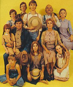 The Waltons  We have the whole series on DVD, our teen daughters' like it as much as we do :)