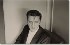 Elvis Presley telling a story on the train back to Memphis, T.N, July 4th 1956