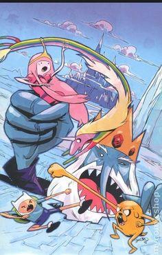 Adventure time comic by Sanford Greene