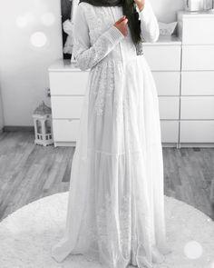 Hijab Outfit, Hijab Dress, Dress Skirt, Dress Outfits, Abaya Fashion, Muslim Fashion, Modest Fashion, Style Fashion, Muslim Shop
