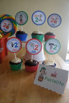 El Chavo del Ocho  Candy/Dessert Table Labels by LollipopParty, $5.25