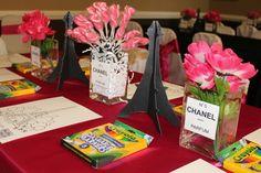 Table set up- paris party