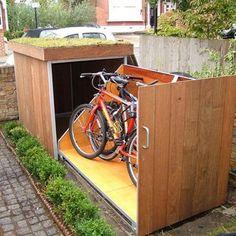 bike box. https://www.facebook.com/organicroofs