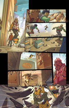 Arcade Boy #1 page 7  Dark Horse Presents #21