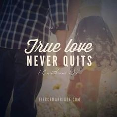 Marriage Gods Way - never quits