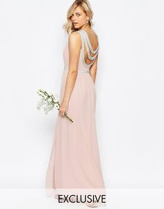 TFNC | TFNC WEDDING Embellished Maxi Dress at ASOS