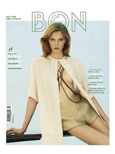 Bliss Lau Body Chain. Bon Magazine Cover Spring/Summer 2011