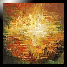 GICLEE painting of ORIGINAL modern abstract fine art Tatiana nature urban 4/100 #Abstract