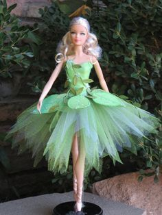 OOAK « Fée du printemps » du modèle Cendrillon muse tutu de Barbie