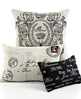 Park B. Smith Bedding, Vintage House Decorative Pillows