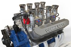 Shelby Cobra 427 engine, need it, oh yeah Ac Cobra, Mustang Cobra, Shelby Mustang, Mustang Boss, Ford Racing Engines, Race Engines, Chevy, Chevrolet Corvette, Shelby Car
