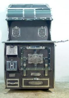 antique stoves victorian range manufactured by unspecified circa 1880 ..