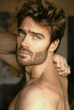 Beautiful Men Faces, Gorgeous Eyes, Greek Men, Handsome Faces, Men Handsome, Moustaches, Pretty Men, Hair And Beard Styles, Actor Model