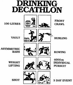 drinking decathlon