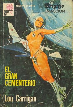 pulp cover erotic science fiction vintage art paperback