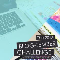 The 2015 Blog-tember Challenge